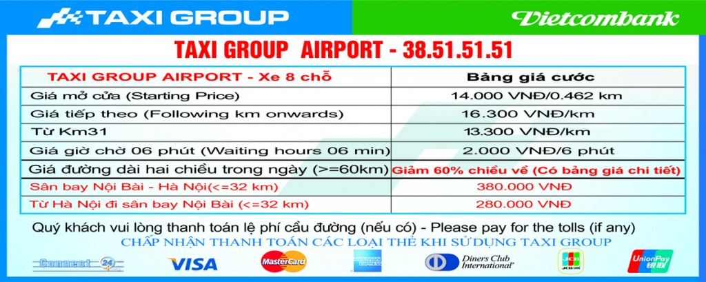 Gia cuoc xe taxi 8 cho 1024x409 - Giá cước Taxi Group áp dụng từ 4/4/2013