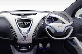 """Bo dieu khien Hyundai Hexa Space - Hyundai gây """"chấn động"""" với mẫu xế hộp gia đình giá rẻ"""