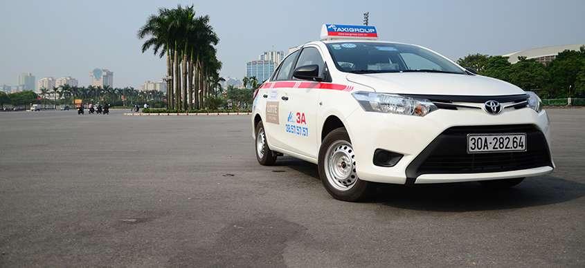 Xe taxi group 3A - Tuyển lái xe Taxi tháng 6 năm 2015