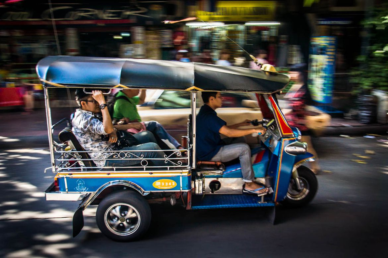 Xe tuk tuk Thái Lan
