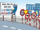 """ma tran bien bao 160x120 - Bí quyết giúp lái xe không """"đứng hình"""" trước """"ma trận"""" biển báo"""