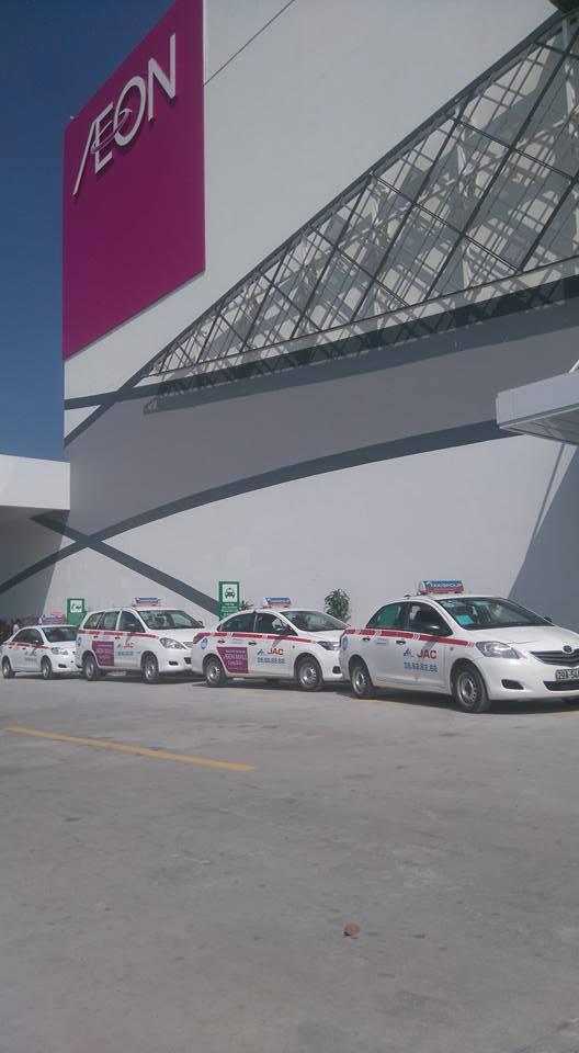 sanh aeon taxi group - Taxi Group khai thác sảnh AEON MALL Long Biên