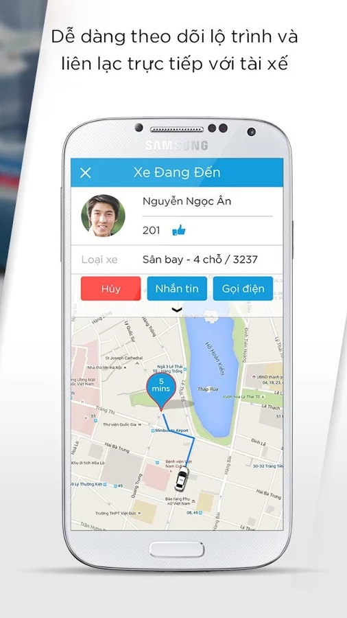 taxigroup app 2 - Taxi Group App - Ứng dụng đặt xe thông minh của Taxi Group