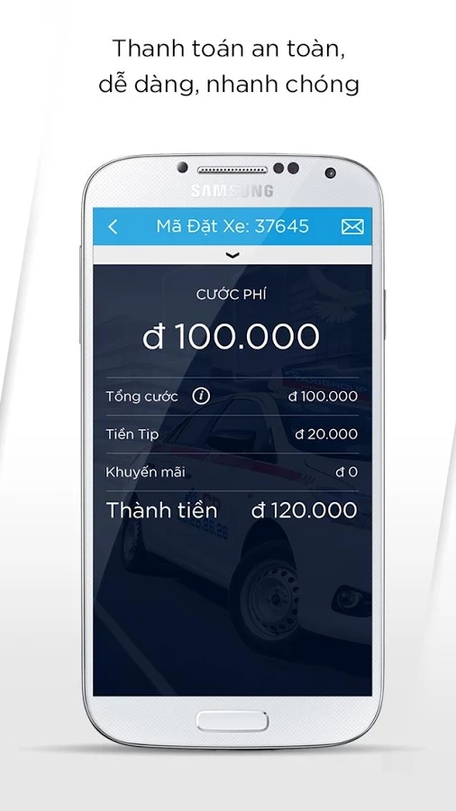 taxigroup app 3 - Taxi Group App - Ứng dụng đặt xe thông minh của Taxi Group