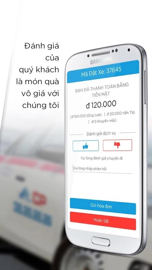 taxigroup app 5 - Taxi Group App - Ứng dụng đặt xe thông minh của Taxi Group