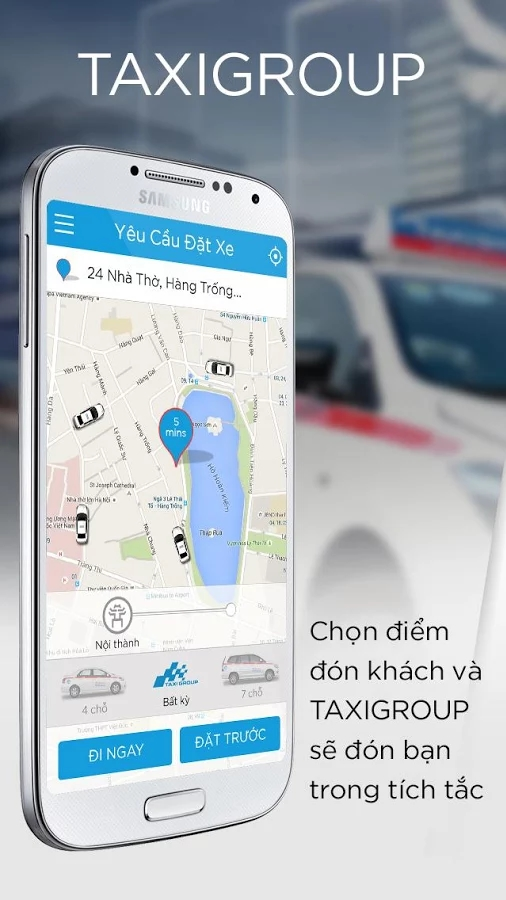taxigroup app - Taxi Group App - Ứng dụng đặt xe thông minh của Taxi Group