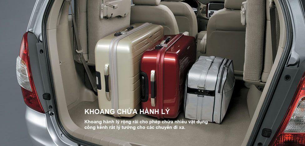 Khoang hành lý taxi 7 chỗ hà nội