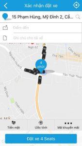 Yeu cau dat xe 3 169x300 - Hướng dẫn cách đặt xe qua ứng dụng Taxi Group App