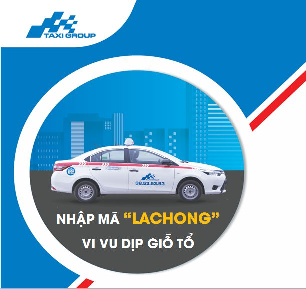 Taxi Group App Khuyen Mai LacHong - Taxi Group App khuyến mãi từ 5-4 đến 12-4-2017