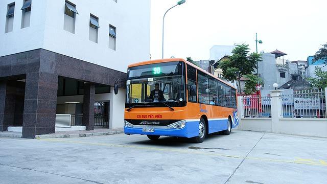 Xe bus buyt tuyen 90 Kim Ma San Bay Noi Bai - Xe Bus / Buýt đi Nội Bài chất lượng cao giá cực rẻ chỉ từ 9.000 đồng