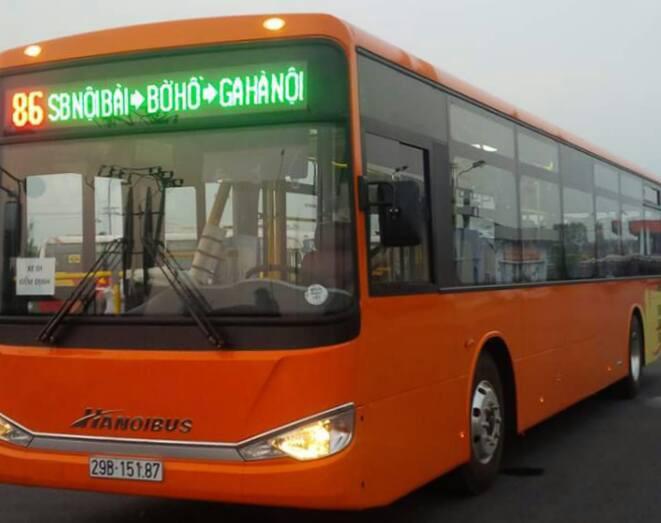 xe bus so 86 noi bai ga ha noi - Xe Bus / Buýt đi Nội Bài chất lượng cao giá cực rẻ chỉ từ 9.000 đồng