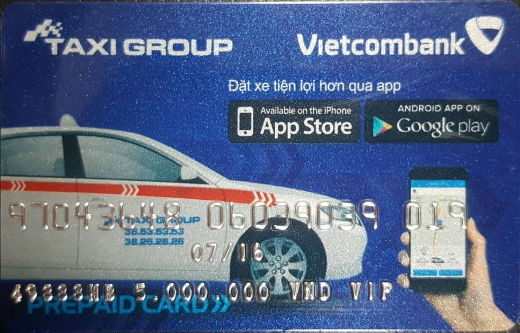 the taxi group tra truoc 1024x655 - Làm thẻ Taxi Group trả trước và trả sau - Thẻ Taxi Group Vietcombank